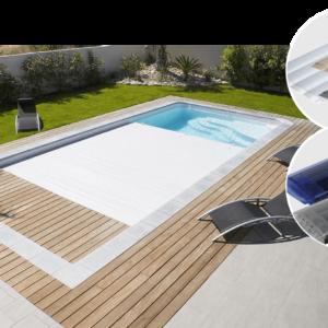 Lamelltäckning till pool