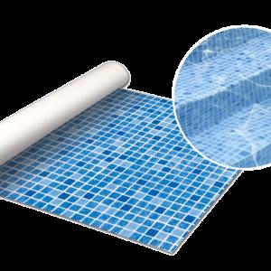 Blå mosaik liner