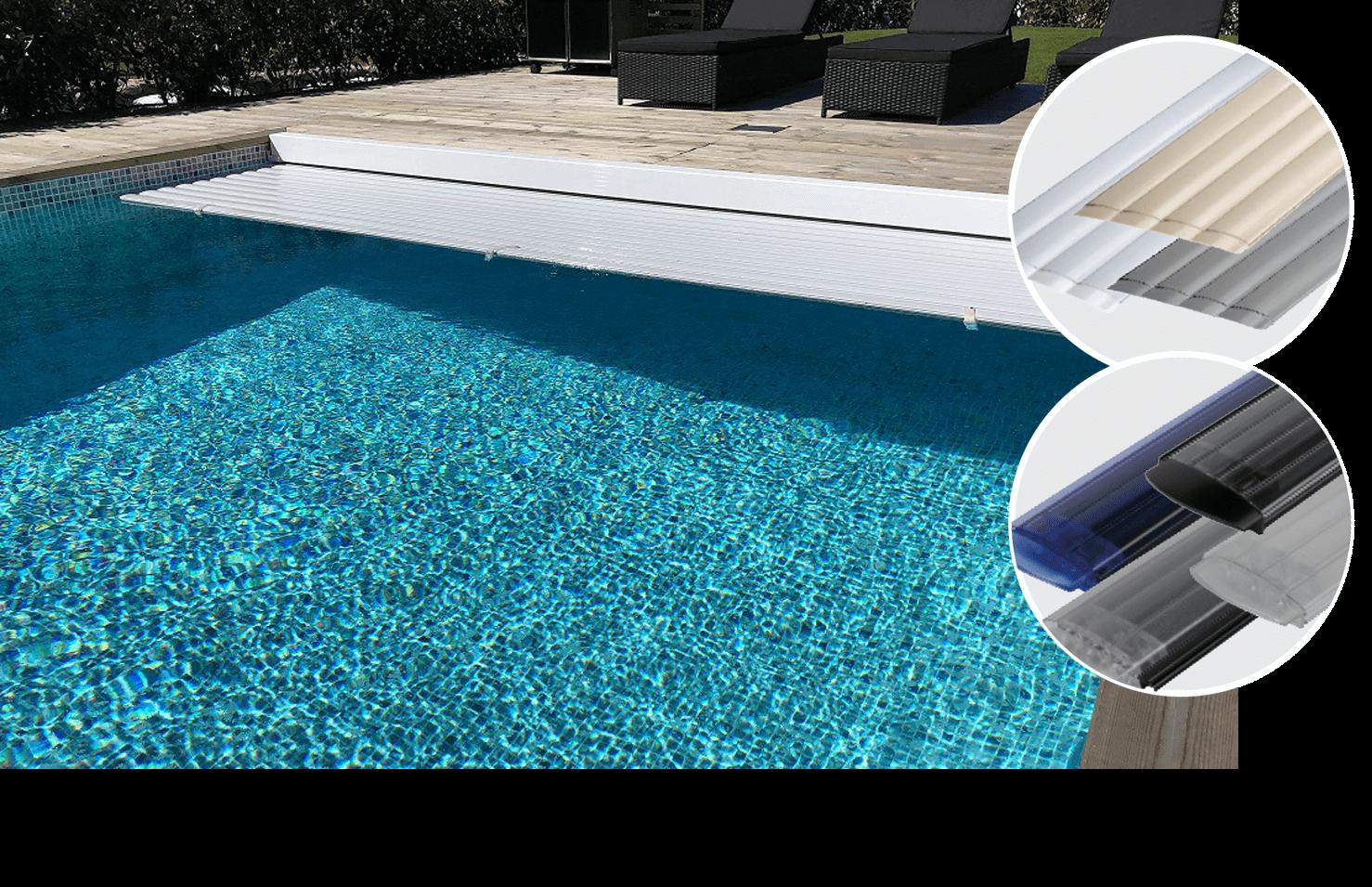Lamelltäckning exklusiv till din pool