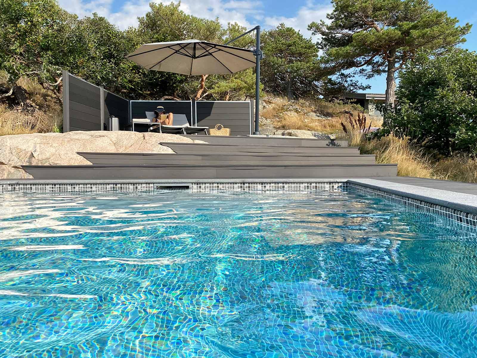 Varför inte en pool till sommaren