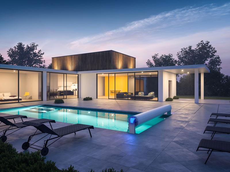 Öka värdet på huset med pool