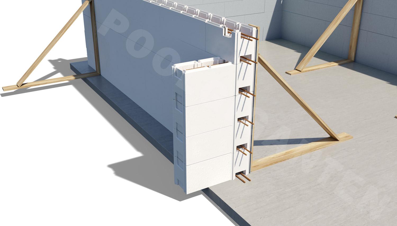 Thermopool är uppbyggd i block, enkelt att bygga