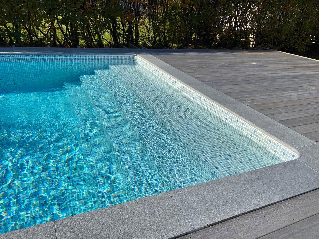 Rektangulär pool